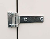 Robust Hinges and lockable handels